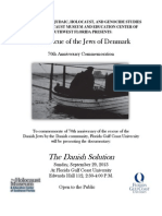 The Rescue of the Jews of Denmark