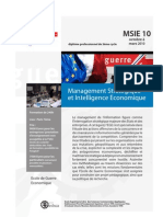 Management Stratégiqueet Intelligence Economique