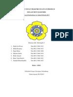 Laporan Tetap Praktikum Satuan Proses II