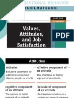 Attitudes in Organizations