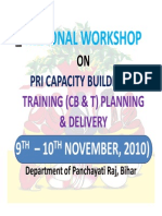 Pri Capacity Building Bihar