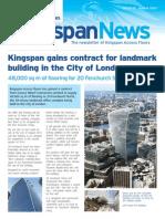 Kingspan Newsletter August