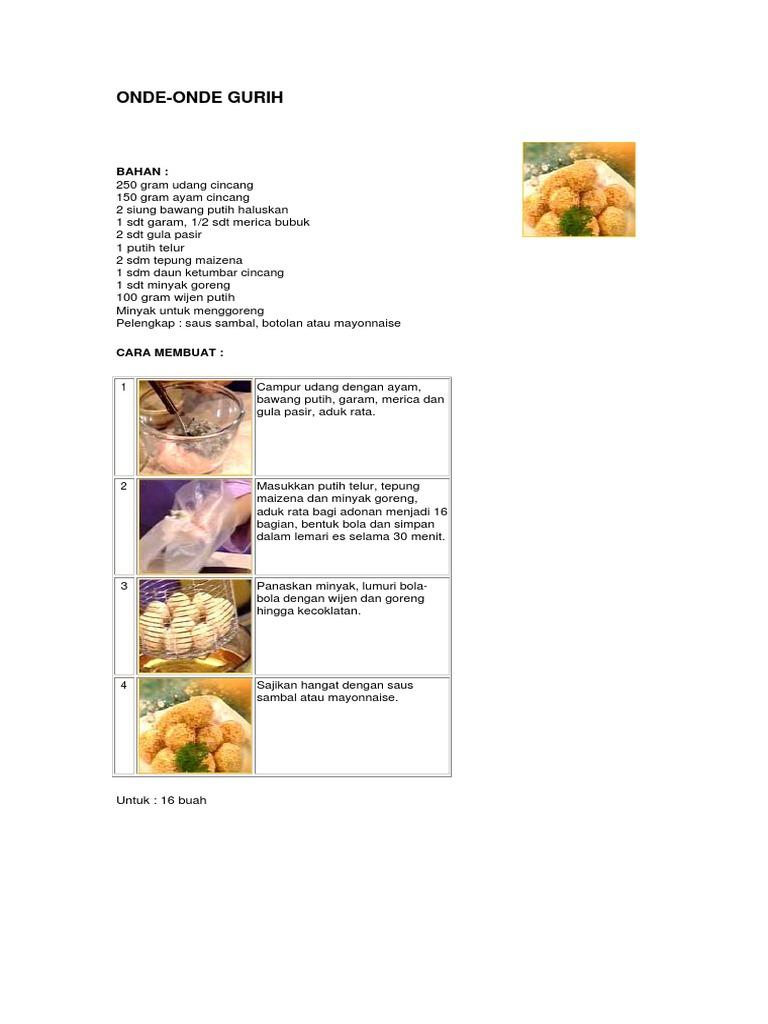 Buku Resep Kue Pdf