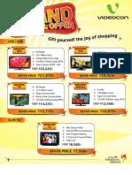 Videocon Offer Leaflet