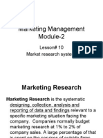 Market Research System