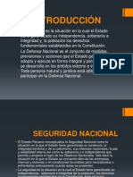 Defensa y Seguridad Nacional