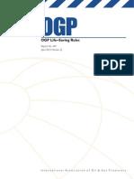 OGP Life–Saving Rules