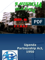 Ppt on Uganda Partnership Act