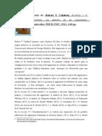 Resena de Robert v. Calabria Berkeley y El Idealismo Un Estudio de Su Argumento (2013 Montevideo FHCE-CSIC) (1)
