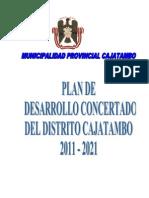 Plan Desarrollo Concertado Cajatambo