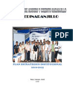Plan Estrategico Institucional Tingo Maria