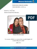 Informe Misionero a Junio 2013 -