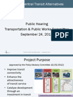 Nicollet-Central transit alternatives