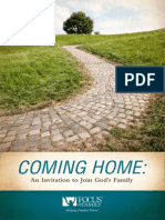 Focus on the Family Coming Home Booklet