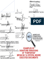 Examples of Bry-Moore Signature Variations