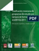 Clasificación Mexicana de Programas de Estudio
