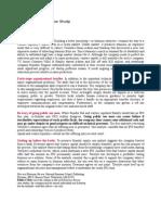 IPO Readiness