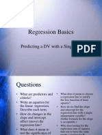 15 Regression Basics