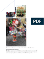 Cuarto Concurso de Trajes Con Materiales Reciclados Del Carnaval de Miguelturra