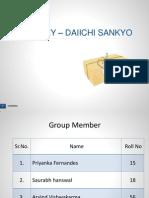 Final MA RANBAXY and Daiichi Sankyo