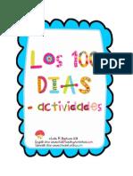 100 Day Activities Spanish