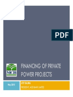 FINANCING OF PRIVATE POWER PROJECTS.pdf