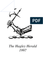 The Hagley Herald - 1997 - A Brief Historical record of the Hagleys of Somerset