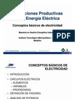1. Conceptos básicos de electricidad
