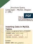 SQL Bag 2 DML Update