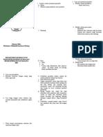 Leaflet Mencegah Infeksi Nosokomial