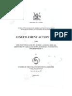 Resettlement Action Plan UGANDA