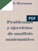 Prob y Ejer de Analisis Mat Berman Archivo1