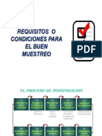 2.  REQUISITOS  MUESTREO