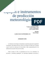 Trabajo Instrumentos y Equipos Meteorologicos Informe e Imprimir