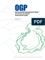 Environmental management in Arcticoil and gas operations:Good practice guide