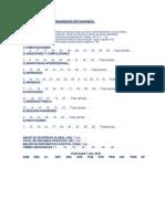 SCL 90 Tabla de corrección