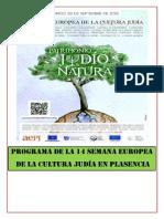 Programa de La 14 Semana Europea