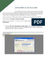 Tutorial Conectar ASP Con SQL
