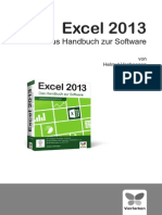 Vierfarben Excel 2013 Handbuch