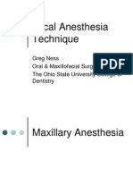 III Local Anesthesia Anatomy and Technique (1)