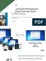 Delivering 3D Graphics