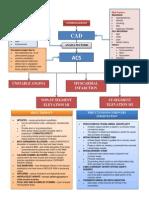 Coronary Artery Disease (CAD Pathophysiology)