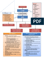 Coronary Artery Disease (CAD Pathophysiology)
