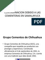 Contaminacion Debido a Las Cementeras en Samalayuca