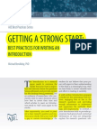 AJE - Best Practices for Writing an Introduction
