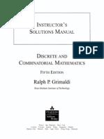 Sol Discrete and Combinatorial Mathematics 5ed R. Grimaldi Part 1
