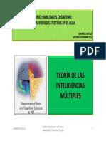 Teoria de Las Inteligencias Multiples 2012-20