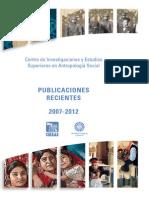 Publicaciones CIESAS 2012