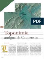 Toponimia antigua de Caudete (I)