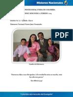 Informe Misionero a febrero 2013 - Quibdó Chocó - Distrito 20